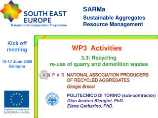 SARMa  Sustainable Aggregates Resource Management