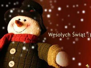 Święta szybko się zbliżają, w święta ludzie się kochają. Przy dzieleniu się opłatkiem,