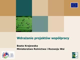 Wdrażanie projektów współpracy