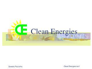 Clean Energies