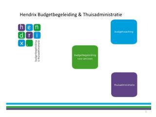 Hendrix Budgetbegeleiding & Thuisadministratie