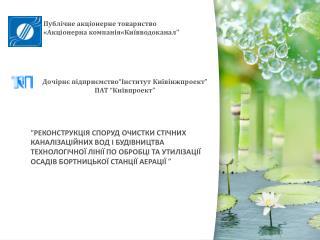 """Дочірнє підприємство """" Інститут Київінжпроект """"  ПАТ """" Київпроект """""""