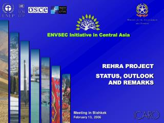REHRA PROJECT STATUS, OUTLOOK AND REMARKS