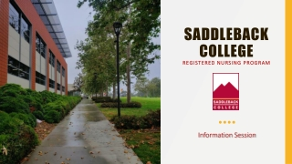 Saddleback College Nursing Program Admission Requirements Before  Applying to Program