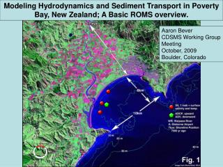 Modeling Hydrodynamics and Sediment Transport in Poverty Bay, New Zealand; A Basic ROMS overview.