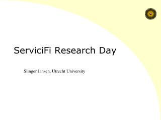 ServiciFi Research Day