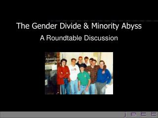 The Gender Divide  Minority Abyss