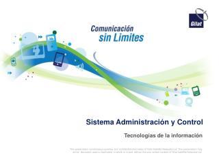 Sistema Administración  y Control