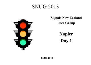SNUG 2013