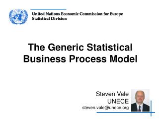 The Generic Statistical Business Process Model