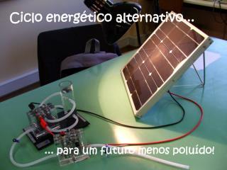 Ciclo energético alternativo...