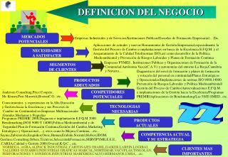 DEFINICION DEL NEGOCIO