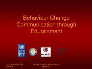 Behaviour Change Communication through Edutainment