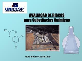 AVALIAÇÃO DE RISCOS para Substâncias Químicas