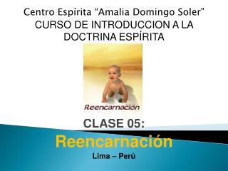 """Centro Espírita """"Amalia Domingo Soler"""" CURSO DE INTRODUCCION A LA  DOCTRINA ESPÍRITA CLASE 05:"""