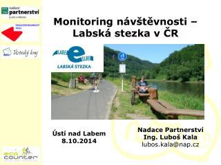 Monitoring návštěvnosti – Labská stezka v ČR