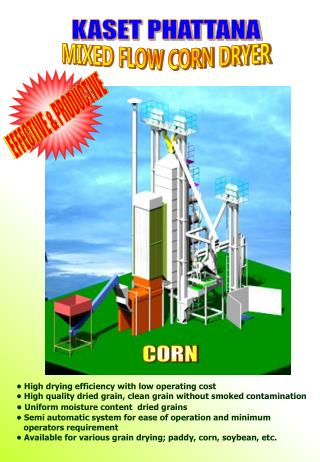 MIXED FLOW CORN DRYER