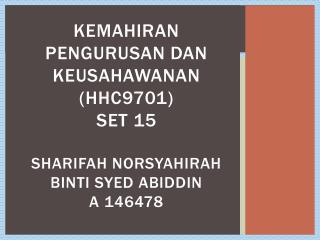 Tajuk  program            :  PROGRAM PEMANTAPAN  KEMAHIRAN