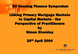 DC Housing Finance Symposium