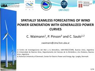 Spatially seamless forecasting of wind power generation with generalized power curves
