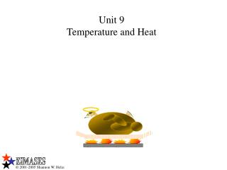 Unit 9 Temperature and Heat