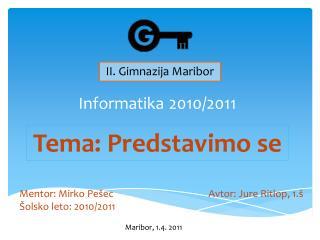 Informatika 2010/2011