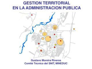 Gustavo Moreira Riveros Comité Técnico del SNIT, MINEDUC