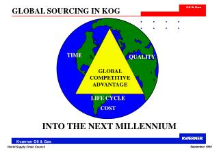 GLOBAL SOURCING IN KOG