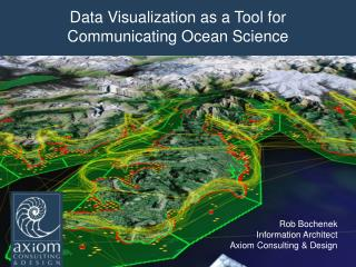 Data Visualizationas a Tool for  Communicating Ocean Science