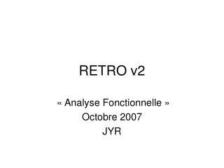 RETRO v2