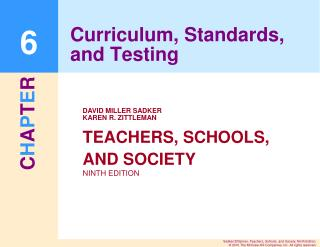 Curriculum, Standards, and Testing