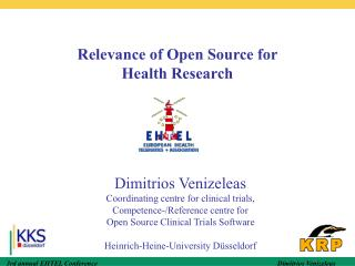 Relevance of Open Source for  Health Research