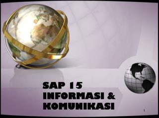 SAP 15 INFORMASI & KOMUNIKASI
