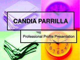 CANDIA PARRILLA