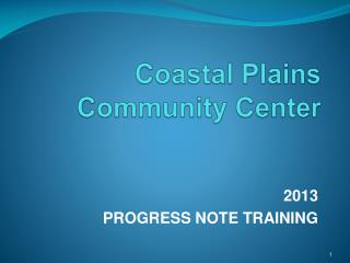 Coastal Plains  Community Center