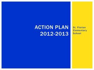ACTION plan 2012-2013