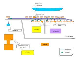 План-схема с. Дубровино