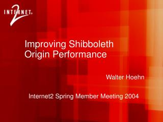Improving Shibboleth Origin Performance