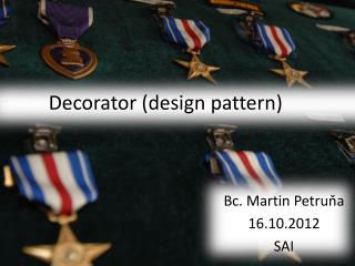 Decorator  (design pattern)