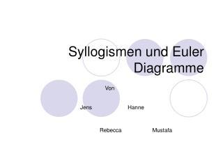 Syllogismen und Euler Diagramme