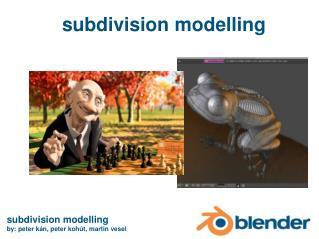 subdivision model l ing
