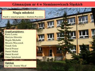 Gimnazjum nr 4 w Siemianowicach Śląskich