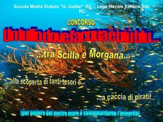 "Scuola Media Statale ""G. Galilei"" RC – Lega Navale Italiana Sez. RC"