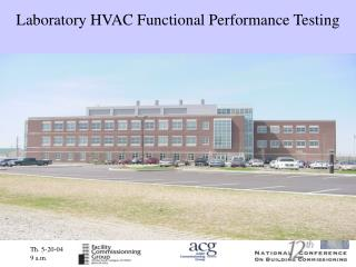 Laboratory HVAC Functional Performance Testing