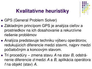 Kvalitatívne heuristiky