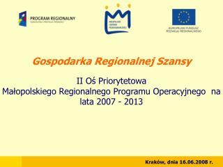 Gospodarka Regionalnej Szansy