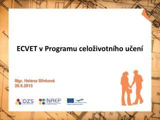 ECVET v Programu celoživotního učení