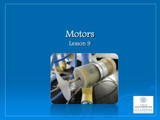 Motors Lesson 9