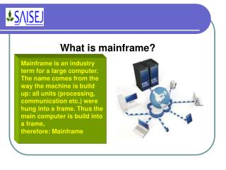 What is mainframe?