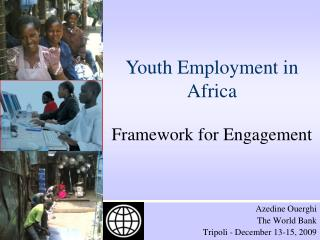 Youth Employment in Africa Framework for Engagement